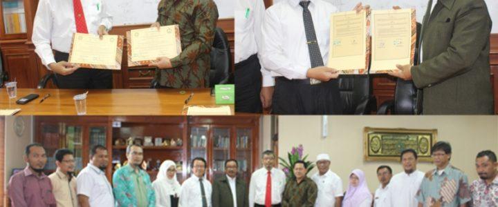 UNKHAIR Melakukan Penandatanganan MoU dan MoA dengan UIN Suska Riau