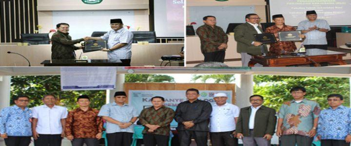 UNKHAIR Melakukan Penandatanganan MoU dan MoA dengan UNRI Riau